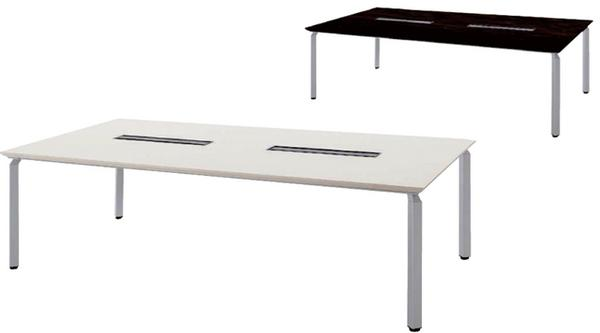 ★34%OFF★ 会議テーブル WK24125H-SV デスク ミーティング用 LOOKIT オフィス家具 インテリア