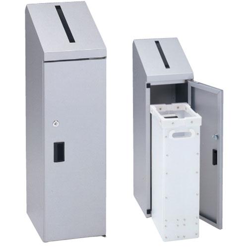 機密書類回収ボックス ごみ箱 鍵付き 書類 KIM-S-4 ルキット オフィス家具 インテリア