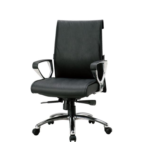 エグゼクティブチェア ミーティング 会議用 M-N1800LLB LOOKIT オフィス家具 インテリア