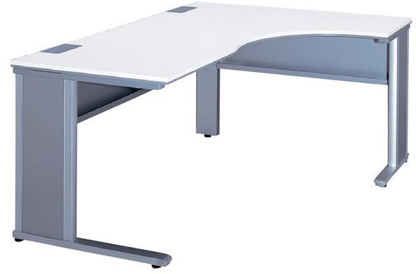 L型デスク 右L型机 平机 W1800mm コーナー ワークデスク デスクシステム オフィス 事務用 学習机 書斎机 デスク L字 FN-1812LR