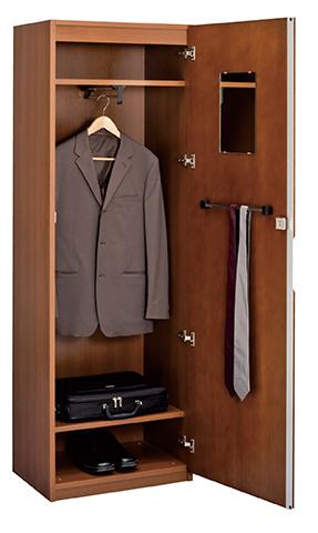 ワードローブ 更衣用ロッカー スーツ コート 木製 高級 収納庫 VP-39シリーズ VP-39LC