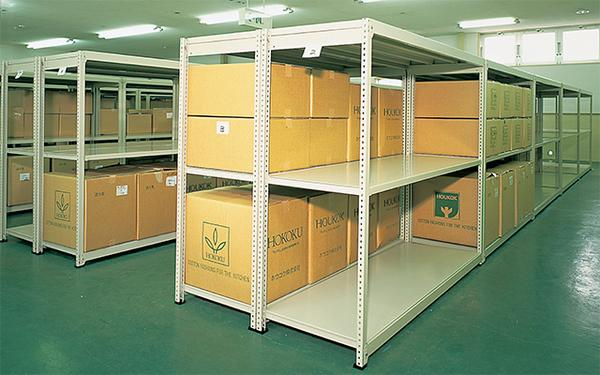 イチゴラック H1800mm 物流 150kg/段 業務用 IM-6460-3 ルキット オフィス家具 インテリア