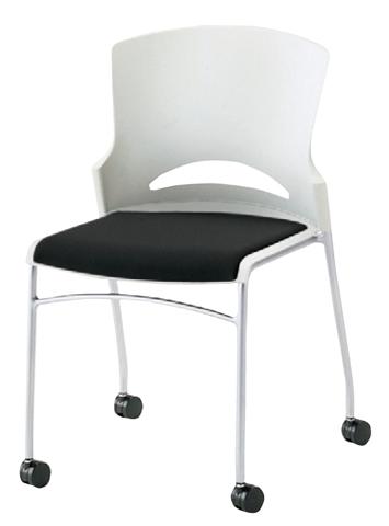 スタッキングチェア キャスター 椅子 打ち合せ LLC-12 ルキット オフィス家具 インテリア