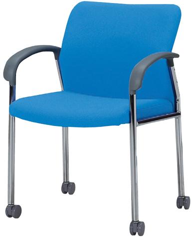 ミーティングチェア キャスター 肘付き 椅子 MC-S221FC LOOKIT オフィス家具 インテリア