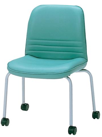 ミーティングチェア イス 椅子 応接室 皮革 MCM-010KV LOOKIT オフィス家具 インテリア