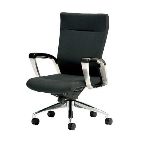 エグゼクティブチェア ミドルバック 布張り SMI-H6 LOOKIT オフィス家具 インテリア