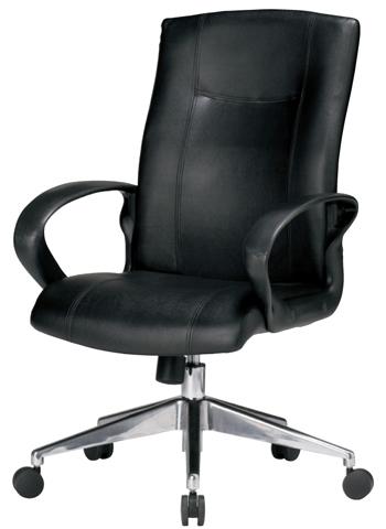 エグゼクティブチェア 皮革 革張り 椅子 役員 EX-051L ルキット オフィス家具 インテリア