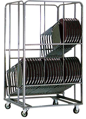 台車 パイプイス 椅子 チェア 搬入 設置 会場 SCW-36S LOOKIT オフィス家具 インテリア