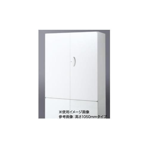 両開き書庫 扉ホワイトボード W900×H750 送料無料 ホワイトボードシート貼り仕様 鍵付き書庫 鍵付き収納 オフィス収納 RW45-WB07H