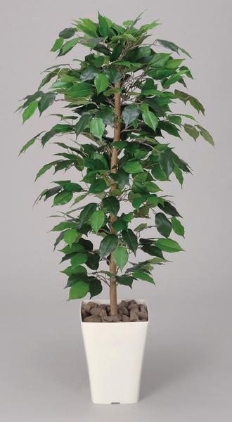 【レビューで次回使える最大2000円割引クーポンGET】 ベンジャミン 観葉植物 120cm 人工樹 光触媒 送料無料 C4208-150