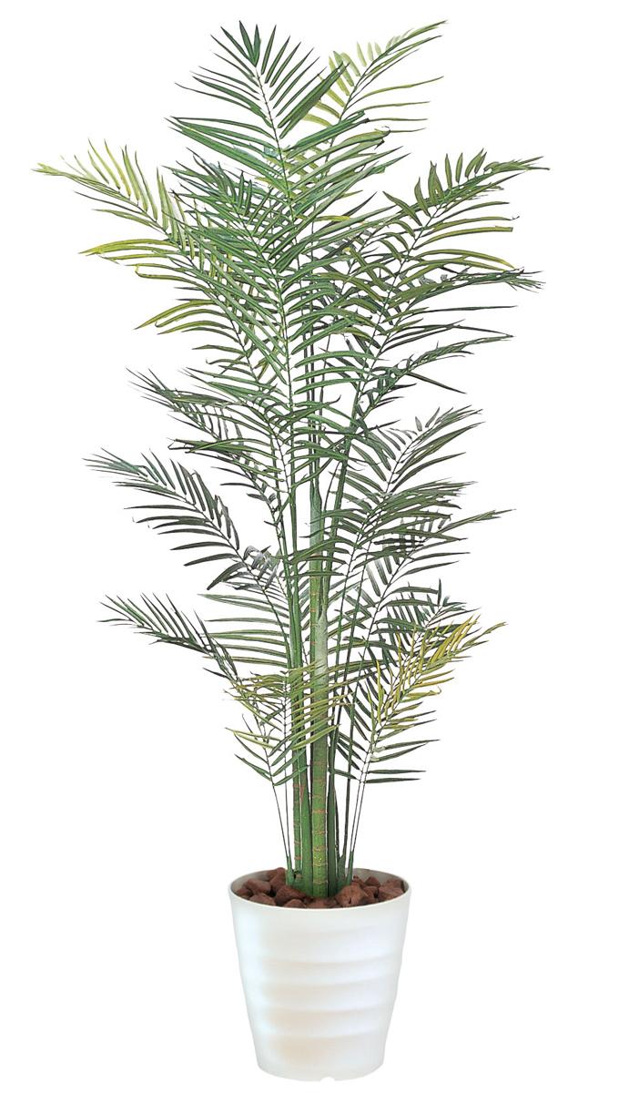 【 法人 送料無料 】アレカパーム 観葉植物 210cm 人工樹木 C3411-400