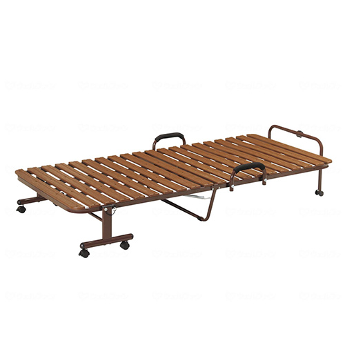 ベッド 折り畳み すのこ 寝具 シングル FBD-PS91 ルキット オフィス家具 インテリア