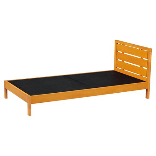 木製ベッド ベッドフレーム シングル 寝具 木製 シンプル スタイリッシュ 特価 人気 WBD-M01 LOOKIT オフィス家具 インテリア