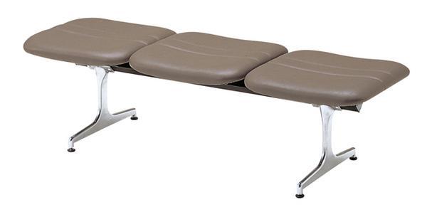 ロビーチェア 3人用 布張り 三人用 病院 待合室 席 RD-43 ルキット オフィス家具 インテリア
