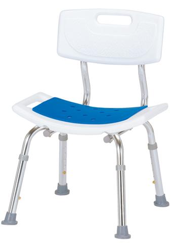 シャワーチェア 背付き 高さ調節可能 いす WG-5003 LOOKIT オフィス家具 インテリア