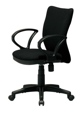 【 法人 送料無料 】 チェア 肘付き 回転 いす 椅子 イス SOHO 机 K-922AR