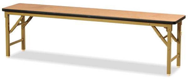 【全品P5倍6/10 13時~17時&最大1万円クーポン6/11 2時まで】【法人限定】 木製ベンチ MB-1530 折りたたみベンチ 折り畳み 折りたたみ式 ルキット オフィス家具 インテリア