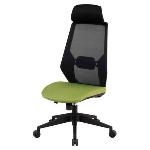 オフィスチェア ヘッドレスト付き 送料無料 メッシュチェア ハイバックチェア デスクチェア パソコンチェア オフィス家具 チェア イス CK01-H