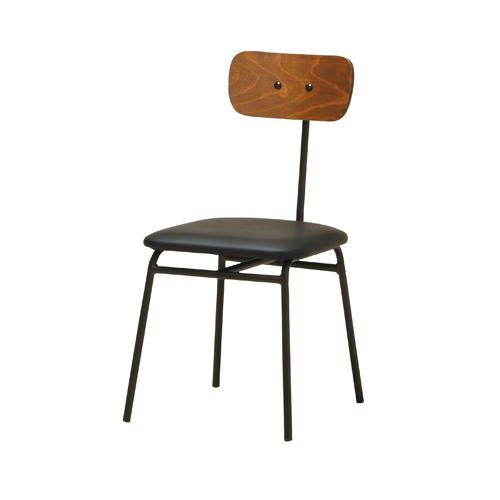 チェア 背もたれ付き ダイニングチェア インダストリアル モダン ヴィンテージ かっこいい 男前 デザインチェア ダイニング家具 椅子 EVS-CV1