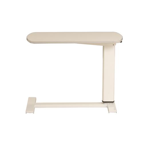ベッドサイドテーブル 昇降テーブル 幅800mm 奥行400mm キャスター付き 高さ調節 サイドテーブル ベッド用テーブル 介護用品 病院 送料無料 KST-8040