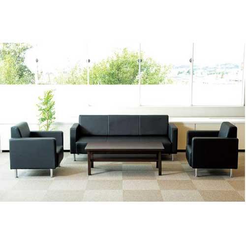 応接セット 4点 高級 日本製 ソファーセット センターテーブル 待合椅子 応接イス ロビーチェア NZS