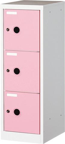ロッカー ボックス 収納 個人金庫 美容室 サロン FB-3 ルキット オフィス家具 インテリア