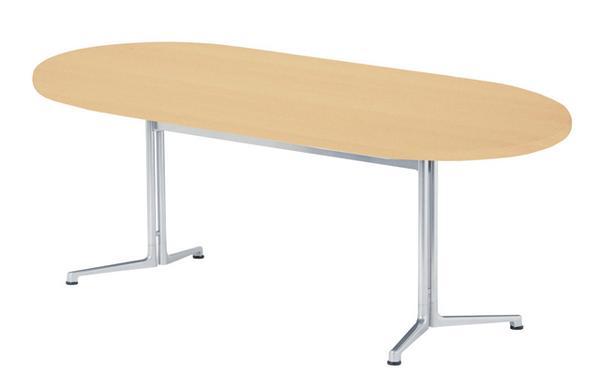 ダイニングテーブル CHY-1890R 楕円 施設用 休憩室 LOOKIT オフィス家具 インテリア