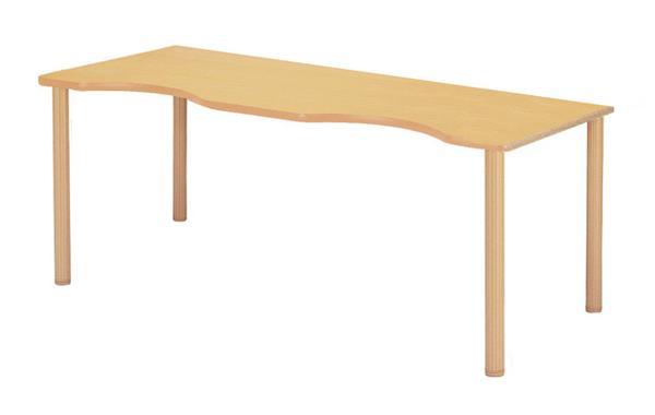 会議テーブル FHO-1860Q 高さ調節 売れ筋 車イス