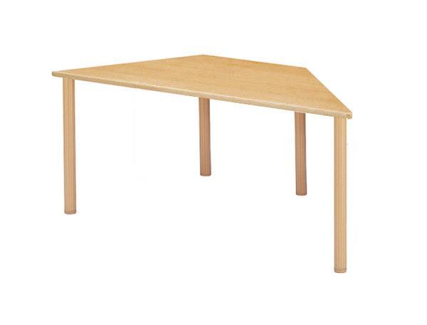 会議テーブル FHO-1878D 台形 オシャレ 養護学校 LOOKIT オフィス家具 インテリア