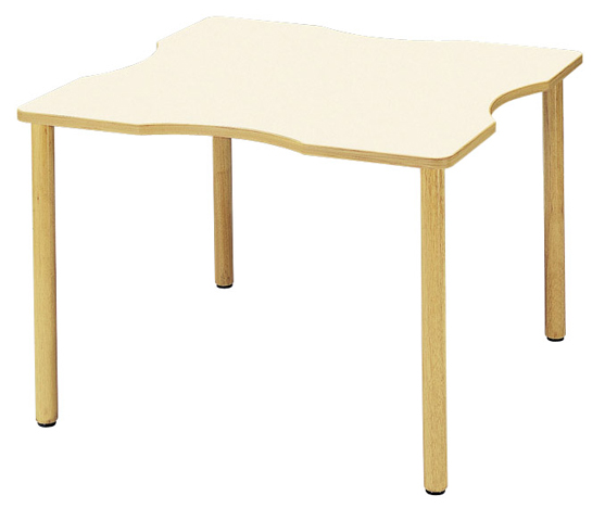 会議テーブル FA-1212Q ロビー 待合室 車椅子 高級 LOOKIT オフィス家具 インテリア