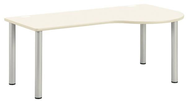 ラウンドテーブル NSD-1890R 大型 ワークデスク LOOKIT オフィス家具 インテリア