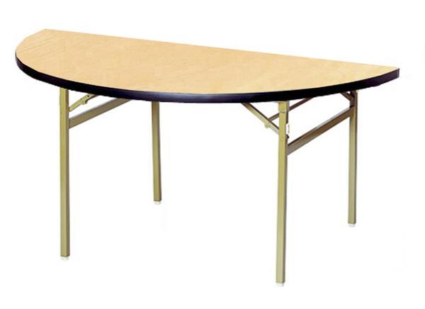 折り畳みテーブル RT-1200HR 半円 丸型 円卓 食堂