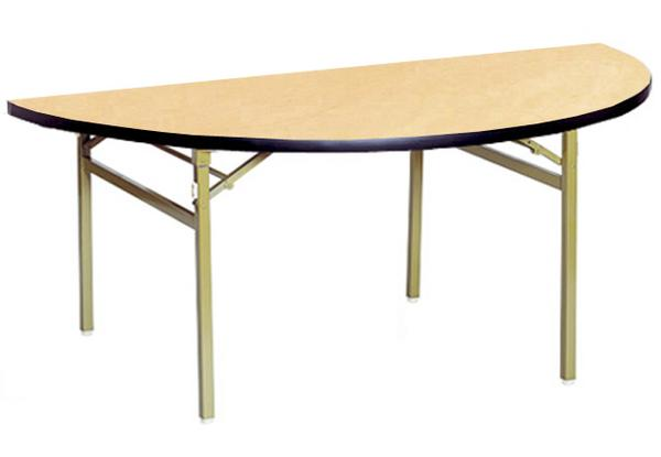 折り畳みテーブル RT-1500HR 高級 木製 日本製 机 LOOKIT オフィス家具 インテリア