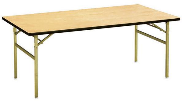 折り畳みテーブル RT-1875 木製 折りたたみ式 高級 ルキット オフィス家具 インテリア