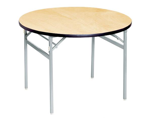 折り畳みテーブル ATS-900R アルミ 円卓 小型 長机 ルキット オフィス家具 インテリア