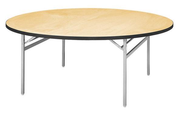 【6月3日9:59まで最大5千円OFFクーポン配布】折り畳みテーブル ATS-1500R 円テーブル 折畳み式