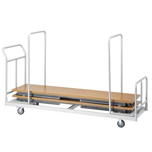 台車 折り畳み会議用テーブル用 手押し車 DS-450