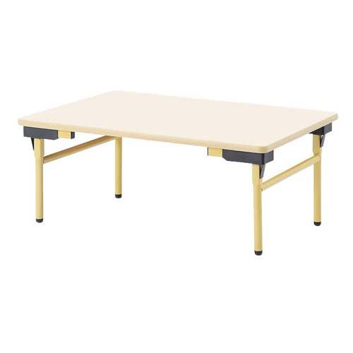 折りたたみテーブル ロータイプ オフィス 企業 会議テーブル 会議用テーブル オフィスデスク 長机 平机 オフィステーブル 作業テーブル EW-1260L LOOKIT オフィス家具 インテリア