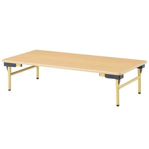 折りたたみテーブル 長机 3サイズ 座卓テーブル 長机 平机 学校 机 スクール 塾 作業テーブル 折畳 折り畳み ワークテーブル オフィス 高さ330mm EW-1260Z