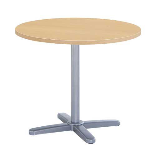 会議テーブル 丸型 ラウンジテーブル 机 GIU-750R LOOKIT オフィス家具 インテリア