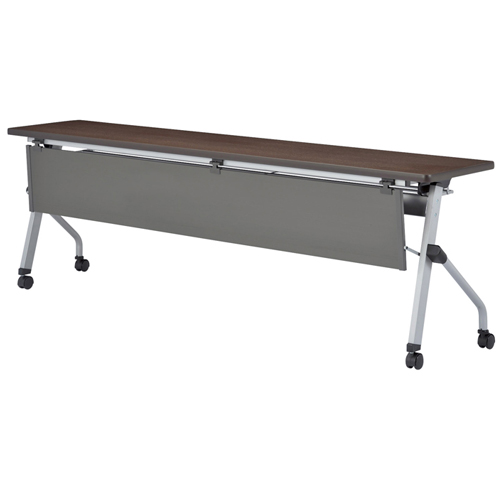 フォールディングテーブル 樹脂幕板付 HLS-1845HGWP LOOKIT オフィス家具 インテリア