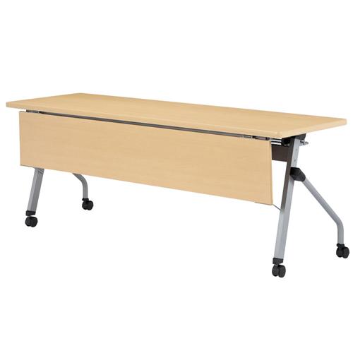 フォールディングテーブル 化粧板幕板付 HLS-1845MP LOOKIT オフィス家具 インテリア