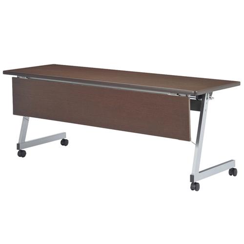 ★新品★ フォールディングテーブル 化粧板幕板付 LFZ-1545HMP LOOKIT オフィス家具 インテリア