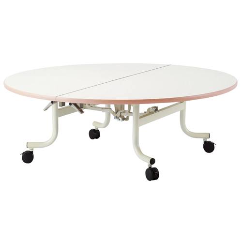学校用 テーブル 丸型 幅120cm 高さ40cm OSC-1200RL LOOKIT オフィス家具 インテリア
