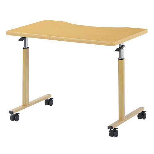 車椅子用テーブル サイドテーブル 入院 WFM-0960Q ルキット オフィス家具 インテリア