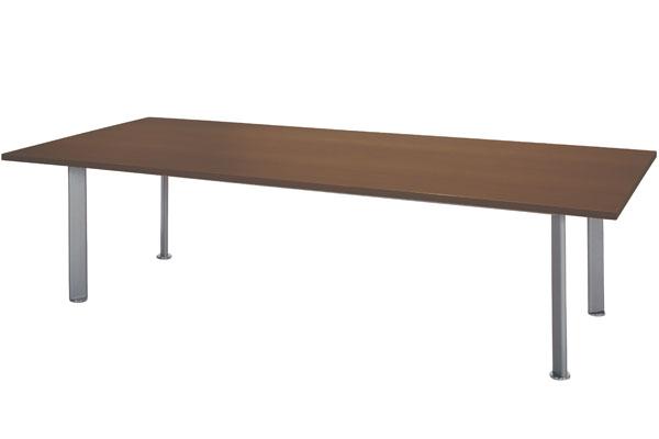 ミーティングテーブル 楕円 脚 パイプ 足 NEB-3212