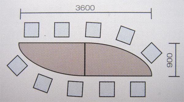 会議テーブルセット ミーティング用 会議スペース 激安 GK6