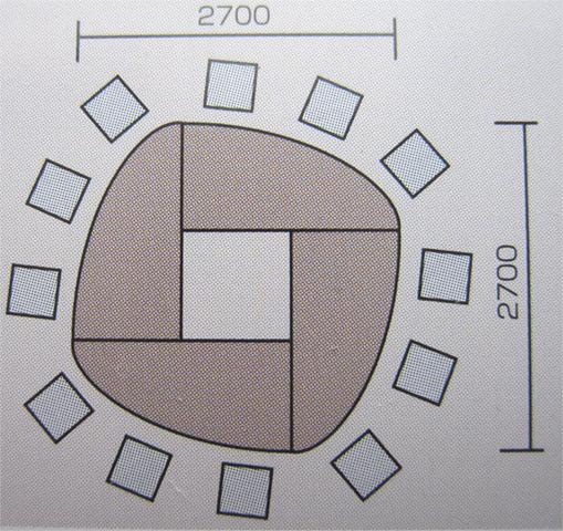 会議テーブルセット 四角形 打ちあわせ 打合せ 激安 机 GK4