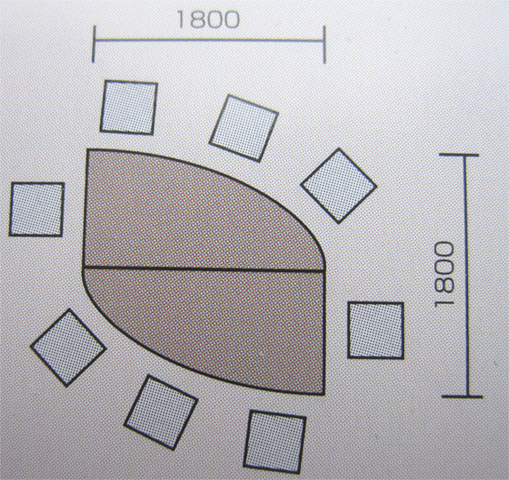 会議テーブルセット 会議用 会議室 デザイン 多人数用 GK2