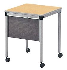 ミーティングテーブル サイドデスク ワゴン キャスター AY-6060PW LOOKIT オフィス家具 インテリア